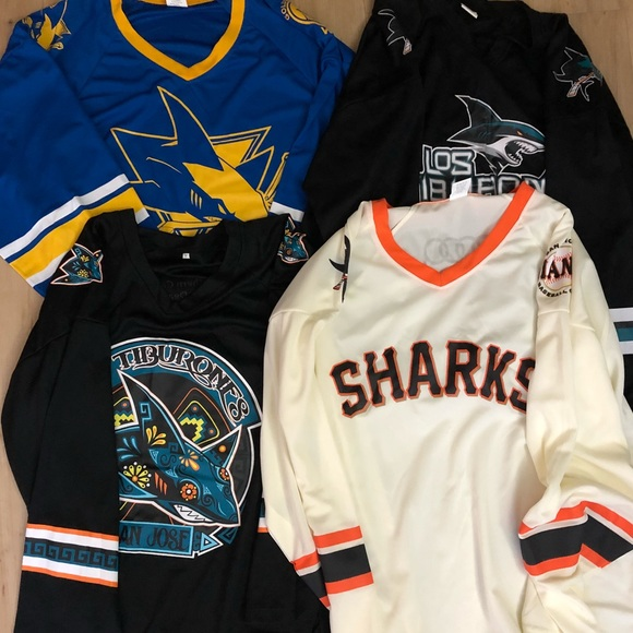 wholesale dealer 017c7 9f6bb San Jose Sharks Jerseys